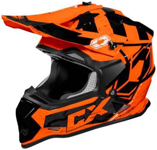 Castle X Mode MX Stance Helmet, Orange Product image