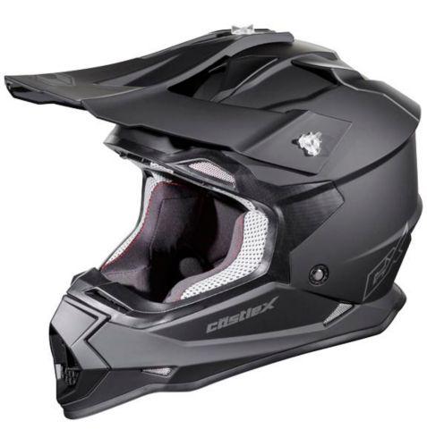 Castle X Mode MX Youth Helmet, Matte Black Product image