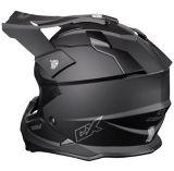 Castle X Mode MX Youth Helmet, Matte Black | Castle Xnull