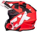 Castle X Mode MX Flow Youth Helmet, Matte Red | Castle Xnull