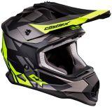Castle X Mode MX Flow Youth Helmet, Matte Hi-Vis | Castle Xnull