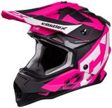 Castle X Mode MX Flow Youth Helmet, Matte Pink | Castle Xnull