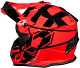 Castle X Mode MX Stance Youth Helmet, Red | Castle Xnull