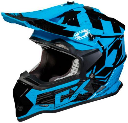 Castle X Mode MX Stance Youth Helmet, Blue Product image