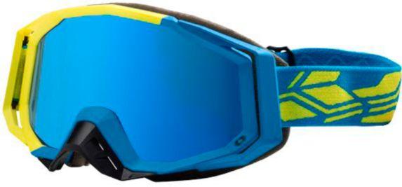 Castle X Trace Snow Goggles, Matte Yellow/Blue, Hi-Vis Product image