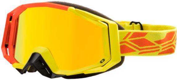 Lunettes de neige Castle X Trace, orange/jaune mat, h. vis. Image de l'article