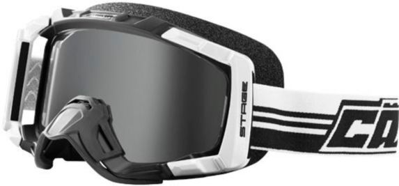 Castle X Stage Blackout OTG Snow Goggles, White Product image