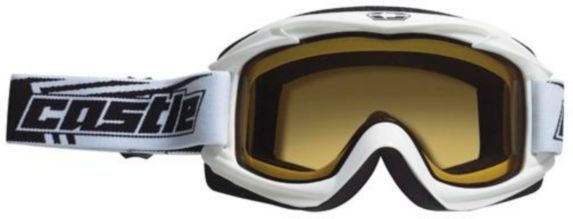 Castle X Launch Snow Goggles, White Product image