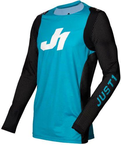 Jersey de motocross Just1 Flex, jeunes, bleu, noir et blanc Image de l'article