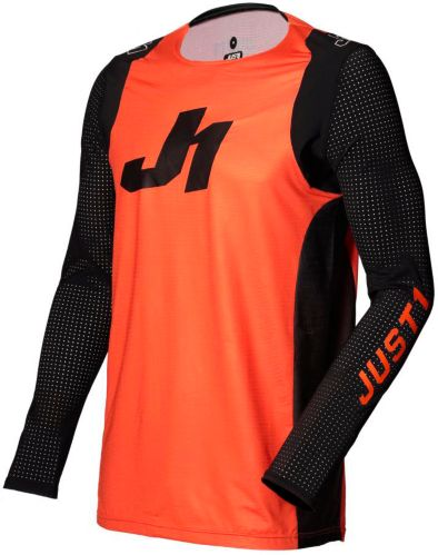 Jersey de motocross Just1 Flex, jeunes, orange et noir Image de l'article