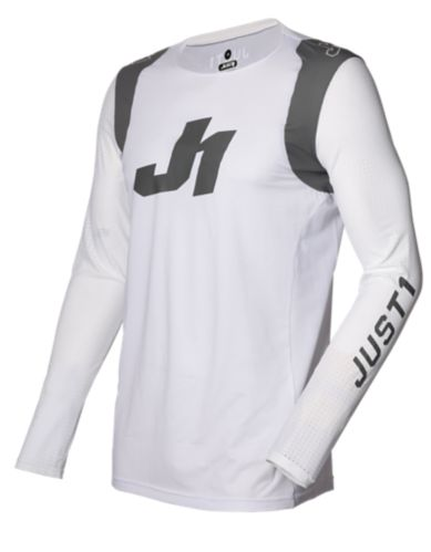 Just1 Flex Motocross Jersey, White/Grey Product image