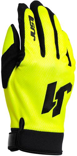Just1 Youth Flex Motocross Gloves, Yellow/Black Product image