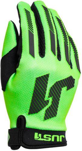 Gants de motocross Just1 J-Force, jeunes, vert Image de l'article