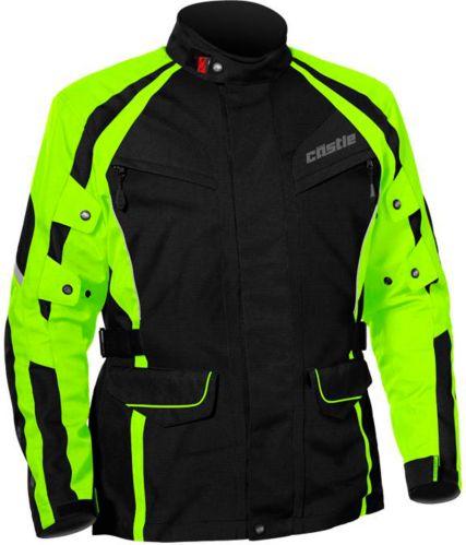 Castle X Mission Air Motorcycle Jacket, Hi-Vis Product image