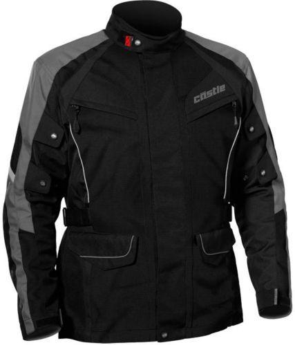 Manteau de motocyclette Castle X Mission Air, gris foncé Image de l'article