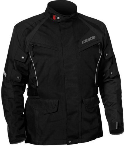 Castle X Mission Air Motorcycle Jacket, Black Product image
