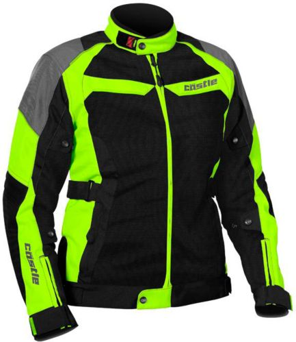 Castle X Women's Passion Air Motorcycle Jacket, Hi-Vis Product image