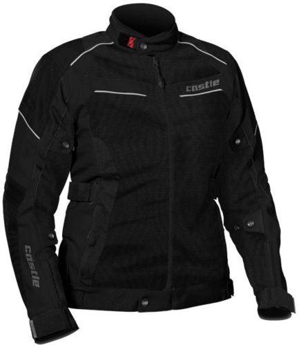 Manteau de motocyclette Castle X Passion Air, femmes, noir Image de l'article