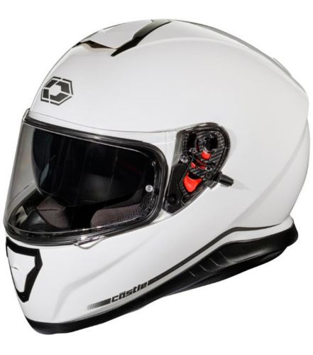 Castle X Thunder 3 SV Motorcycle Helmet, White Product image