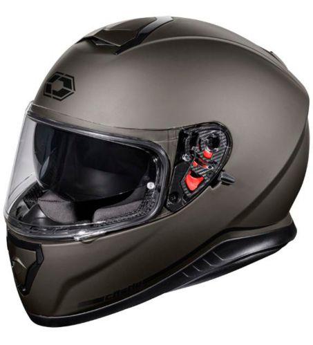 Casque de motocyclette Castle X Thunder 3 SV, titane mat Image de l'article