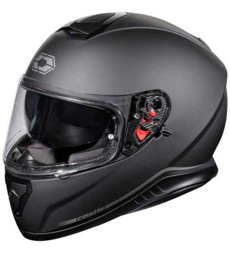 Castle X Thunder 3 SV Motorcycle Helmet, Matte Black Product image