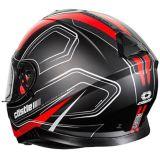 Casque de motocyclette Castle X Thunder 3 SV Trace, rouge mat | Castle Xnull