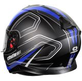 Castle X Thunder 3 SV Trace Motorcycle Helmet, Matte Blue | Castle Xnull