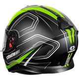 Castle X Thunder 3 SV Trace Motorcycle Helmet, Matte Hi-Vis | Castle Xnull