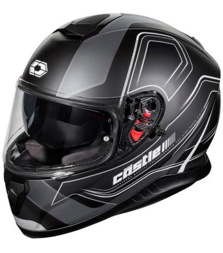Casque de motocyclette Castle X Thunder 3 SV Trace, noir mat Image de l'article