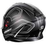 Casque de motocyclette Castle X Thunder 3 SV Trace, noir mat | Castle Xnull