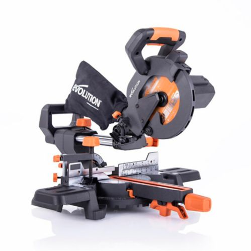 Evolution Multi-Material Compound Sliding Mitre Saw, 7-1/4-in Product image