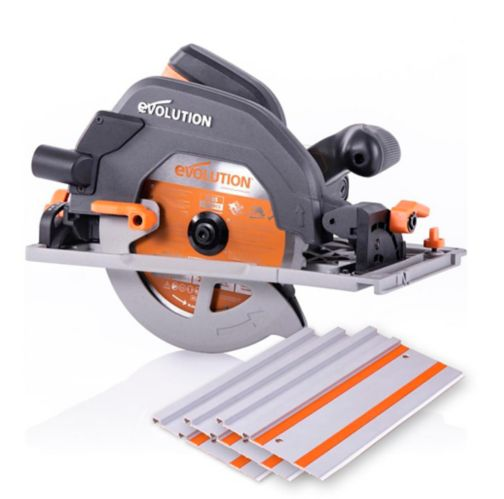 Evolution Multi-Material Circular Track Saw Kit, 7-1/4-in Product image
