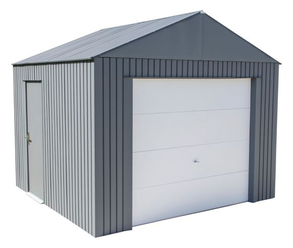 Garage ShelterLogic Sojag Everest, anthracite, 10 pi Image de l'article