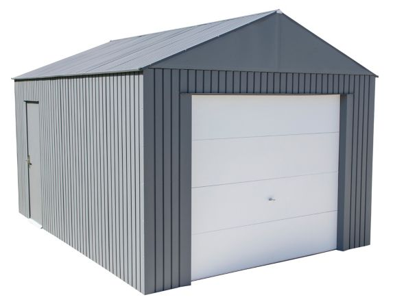 ShelterLogic Sojag Everest Garage, Charcoal, 15-ft Product image