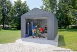 ShelterLogic Sojag Everest Garage, Charcoal, 15-ft | Shelter Logicnull