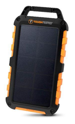 Chargeur portable solaire ToughTested TT 10000mAh avec panneau à DEL/IP54 Image de l'article