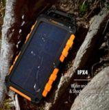 Chargeur portable solaire ToughTested TT 10000mAh avec panneau à DEL/IP54 | ToughTestednull