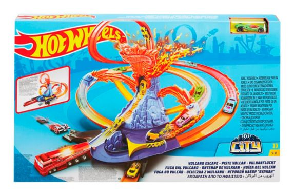Hot Wheels® Volcano Escape Playset Product image