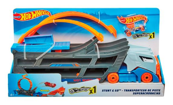 Transporteur de piste Hot Wheels Stunt N Go Image de l'article