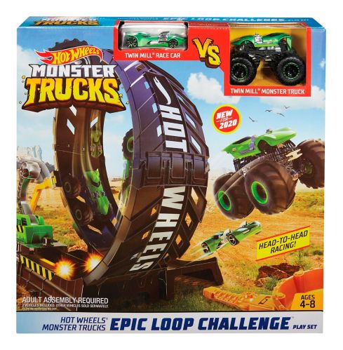 Hot Wheels Monster Trucks Epic Loop Challenge Playset Product image