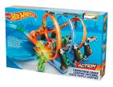 Hot Wheels® Corkscrew Crash™ Track Set with Vehicle | Hot Wheelsnull