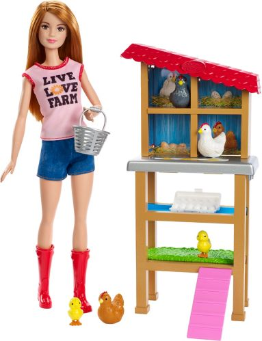 Barbie® Careers Chicken Farmer Doll & Coop Playset Product image