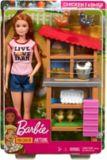 Barbie® Careers Chicken Farmer Doll & Coop Playset | Barbienull