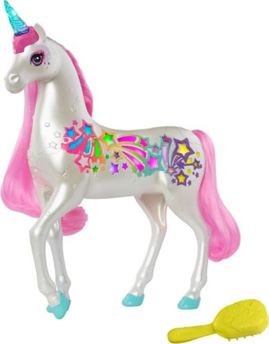 Barbie® Dreamtopia Brush 'n Sparkle Unicorn with Lights Product image