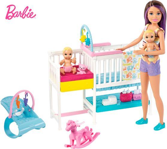 Ensemble de jeu Barbie Pouponnière sieste et soin Image de l'article