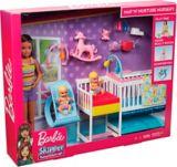 Ensemble de jeu Barbie Pouponnière sieste et soin | Barbienull