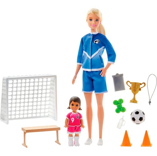 Barbie® Soccer Coach Playset with Dolls Product image