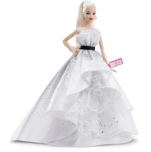 Barbie® 60th Celebration Silver Dress Doll Product image