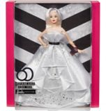 Barbie® 60th Celebration Silver Dress Doll | Barbienull