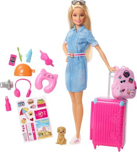 Ensemble de poupées Barbie voyageuse Image de l'article